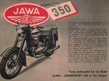 JAWA 350 Supersport från 50-talet. Då något alldeles extra.