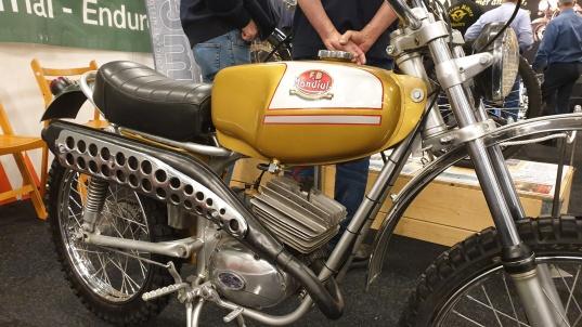 Årets lotterivinst: Mondial Cross 49 cc 1974 4-vxl