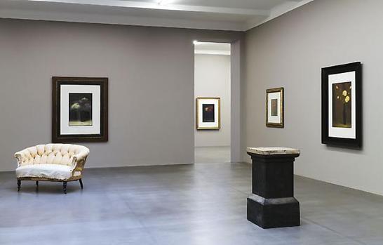 Peter Fries målningar på nya Galleri Lars Bohman