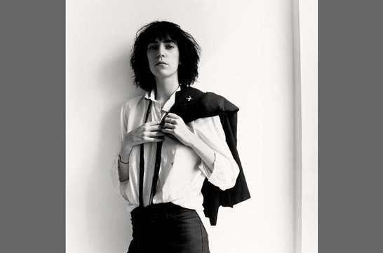 Robert Mapplethorpes foto av sin livskamrat Patti Smith