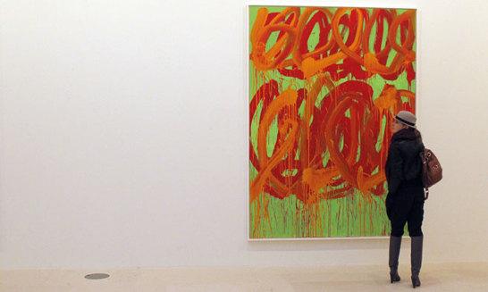 Utställning i Paris 2010     Foto: Francois Guillot