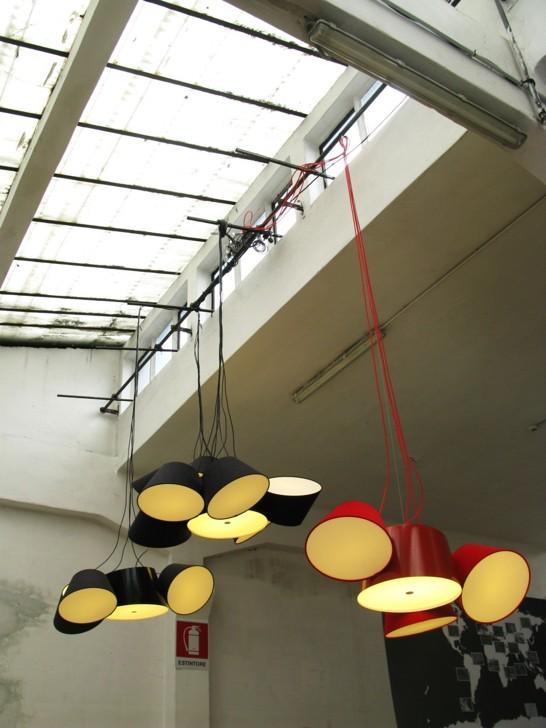 Effektfullt med lampor i klunga