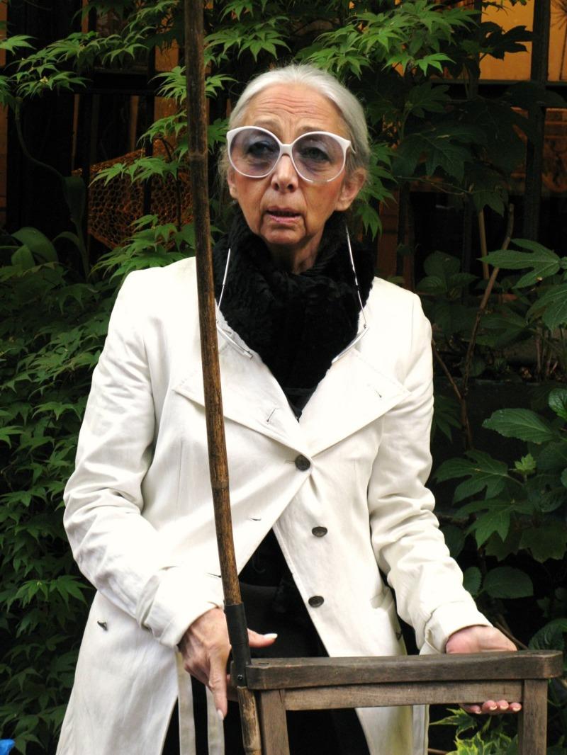 Rossana Orlandi i sin butik