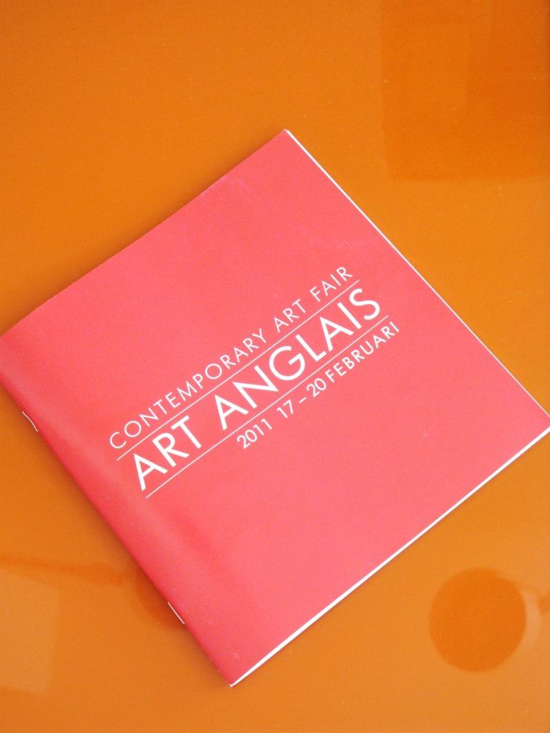 Utställningskatalog till Art Anglais