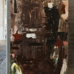 Touch wood 180x130 cm