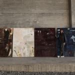 Touch wood, Hemlängtan, Bordeaux, Natthamn 180x130 cm
