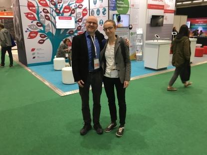 PGs ordförande, Thomas Winberg och Kunskapsnätverkets projektledare, Johanne Hoffart.