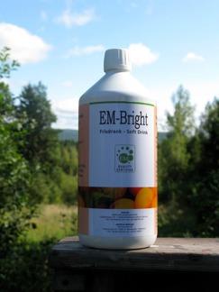 Bright - Probiotisk dryck, 1 liter. - EM Bright, Probiotisk dryck, 1 liter