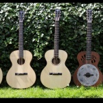 5 guitars pictured in 2012