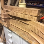 Walnut guitarnecks