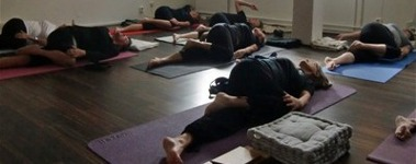Yogaklass.