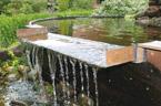 Vattenfall & bäckar till dammar