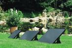 Solceller till dammar
