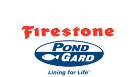 Firestone PondGard logo - Dammduk