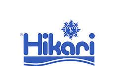 Hikari logo -  Fiskmat till Koifiskar