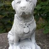 Trädgårdskonst Hund