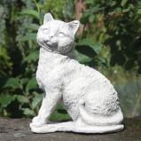 Trädgårdskonst Katt