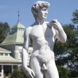 Trädgårdskonst Staty David