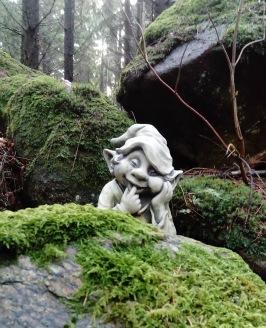 Trädgårdskonst troll