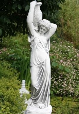 Trädgårdsstaty , trädgårdsfigur