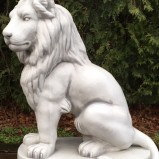 Trädgårdfigur Lejon H