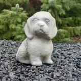 Trädgårdskonst hundvalp
