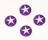 lila stjärna