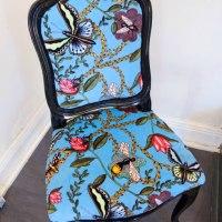 bugs blue chair