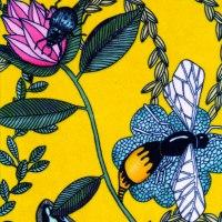 "detalj ""bugs yellow"" (sammet)"