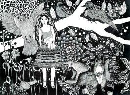 Flickan och räven
