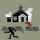 deckarmord i kyrklig miljö