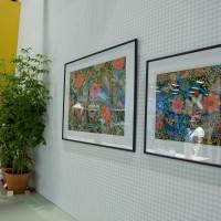 Mina teckningar i restaurangen Formex 2012