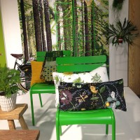 brickbord Bugs & ButtBugs & Butterflies sammetskudde i Jan Rundgrens inpsirationsmonter