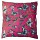 Bugs & Butterflies bomull - Kuddöverdrag Bugs & Butterflies bomull 48x48 cm cerise småmönstrad