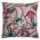 Bugs & Butterflies sammet - Kuddöverdrag Bugs & Butterflies sammet 48x48 cm rosa