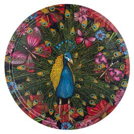 Påfågeln - Bricka 38 cm Påfågeln