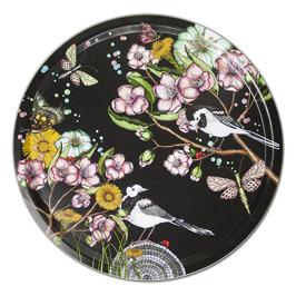 Wagtails spring - Wagtails spring black 38 cm