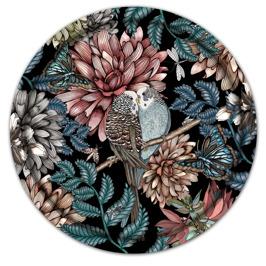 Lovebirds - Lovebirds black 38 cm