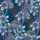 Purple vein - Purple vein blue