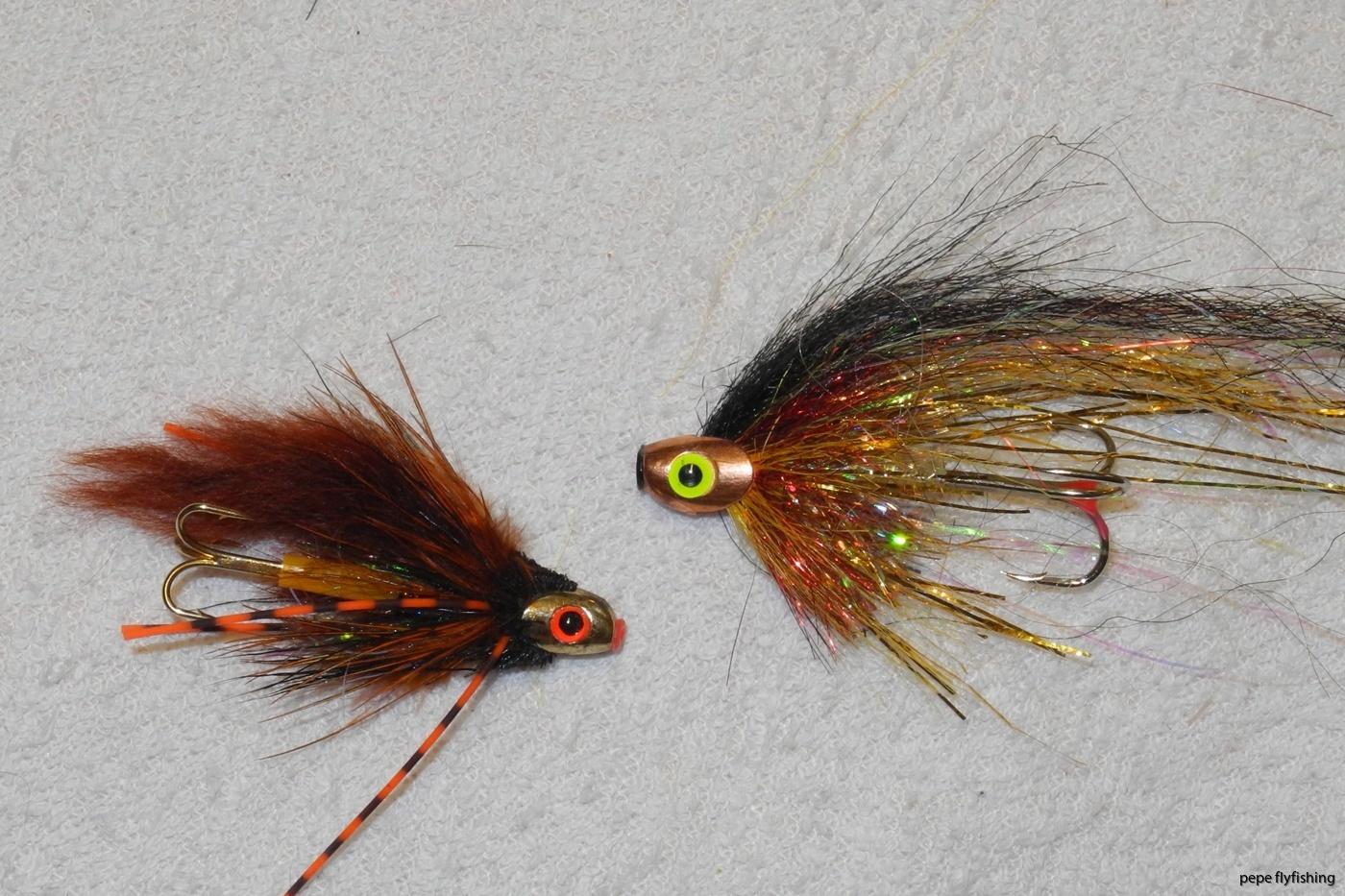 Baitfish Head Flies 2