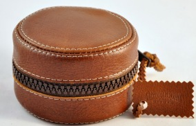 Reel case leather 4