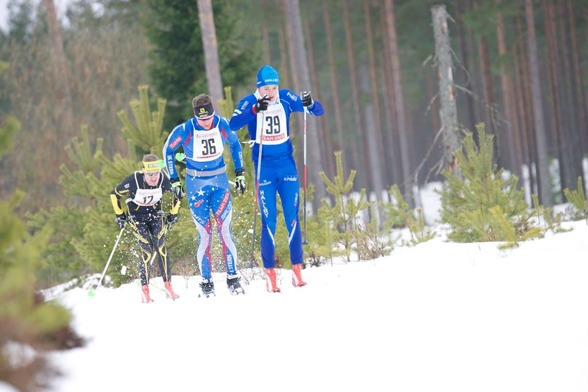 Tättrion H21, segraren Oscar Claesson , tätt följde av Johan Kanto och Peter Arnesson.