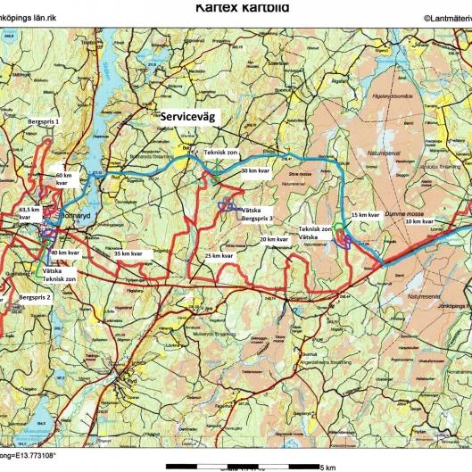 CykelRallarn 64 km 2017 med km