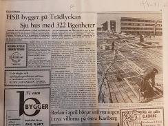 Tidningsartikel ur Hallands Nyheter 15/4-1971