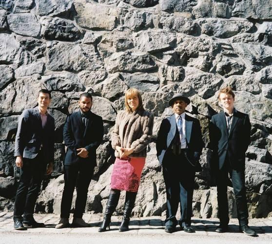 Amanda Sedgwick Quintet - foto  Kenneth Schlaich