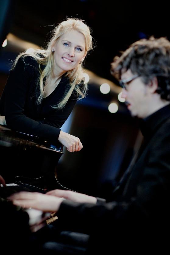 Margareta Bengtson och Mathias Algotsson - foto Annika Falkuggla