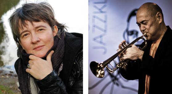 Olga Konkova - foto Stein Styve      /      Roy Okutani - foto Tina Stafrén