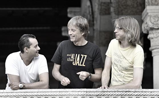 Zoltén Csörsz, Jan Lundgren och Mattias Svensson. Foto  Luca d'Agostino
