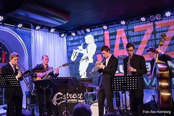 Mainline Jazz Collective på Jazzklubben Sundsvall. Foto Åke Holmberg