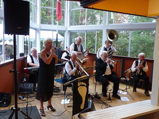 Barfota Jazzmen. Foto Birger Björnerstedt